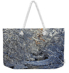 Saco River New Hampshire Weekender Tote Bag