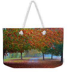Sacramento River Bike Trail Weekender Tote Bag