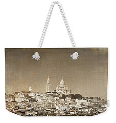Sacre Coeur Basilica Of Montmartre In Paris Weekender Tote Bag