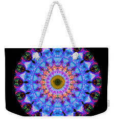Sacred Crown - Mandala Art By Sharon Cummings Weekender Tote Bag by Sharon Cummings