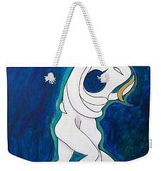 Sacred Kiss Weekender Tote Bag