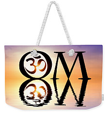 Sacred Om Weekender Tote Bag by Tim Gainey