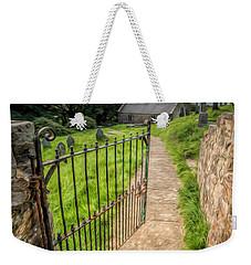 Sacred Path Weekender Tote Bag