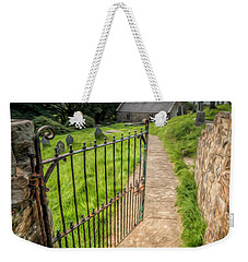 Sacred Path Weekender Tote Bag