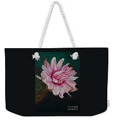 Sacred Red Lotus Weekender Tote Bag