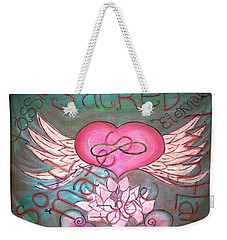 Sacred Soulmates And Twin Flames Weekender Tote Bag