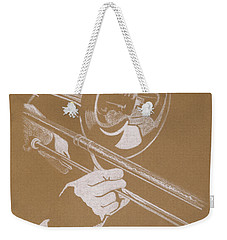 Sacred Trombone Weekender Tote Bag