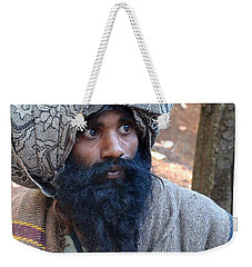 Sadhu At Amarkantak India Weekender Tote Bag