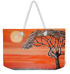 Safari Sunset 2 Weekender Tote Bag