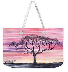 Safari Sunset  Weekender Tote Bag