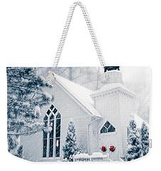 Historic Church Oella Maryland Usa Weekender Tote Bag by Vizual Studio