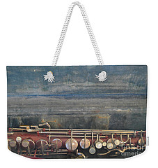 Weekender Tote Bag featuring the photograph Safe Sax In Vegas by Brian Boyle