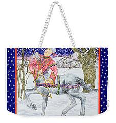 Sagittarius Wc On Paper Weekender Tote Bag by Catherine Bradbury