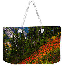 Sahale Arm Weekender Tote Bag by Inge Johnsson
