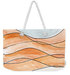 Sahara Sand Dunes Weekender Tote Bag