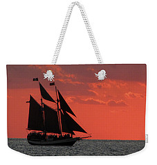 Key West Sunset Sail 5 Weekender Tote Bag