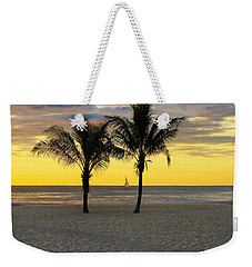 Sail Away At Dawn Weekender Tote Bag
