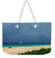 Sail Away Weekender Tote Bag by Catie Canetti
