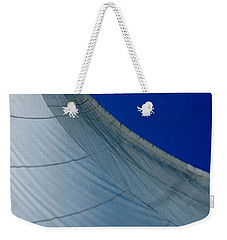 Weekender Tote Bag featuring the photograph Sail Away by Christiane Hellner-OBrien