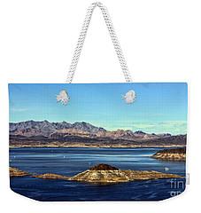 Sail Away Weekender Tote Bag by Tammy Espino