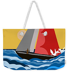 Sail Day Weekender Tote Bag