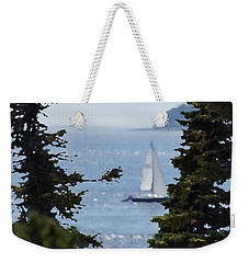 Sail On Weekender Tote Bag by David and Lynn Keller