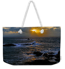 Sail Rock Sunrise Weekender Tote Bag