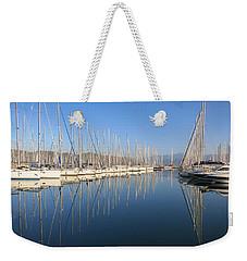 Sailboat Reflections Weekender Tote Bag