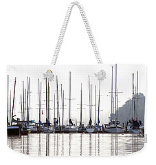 Sailboats Reflected Weekender Tote Bag