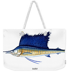 Sailfish Weekender Tote Bag