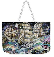 Sailing Among The Stars Weekender Tote Bag