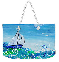 Sailing By Jan Marvin Weekender Tote Bag
