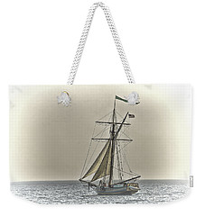 Sailing Off Weekender Tote Bag