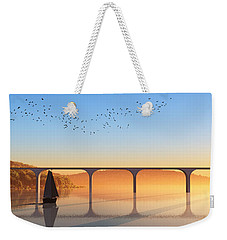 Sailing Out To Sea... Weekender Tote Bag
