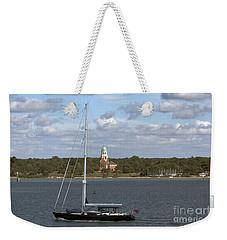 Sailing Past Netley Weekender Tote Bag