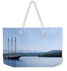 Sailing Ship In The Adriatic Islands Weekender Tote Bag