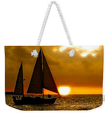 Sailing The Keys Weekender Tote Bag