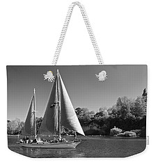 The Fearless On Lake Taupo Weekender Tote Bag by Venetia Featherstone-Witty