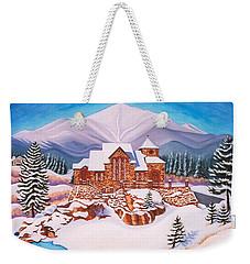 Saint Catherine Chapel Weekender Tote Bag