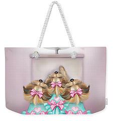 Saint Cupcakes Weekender Tote Bag by Catia Cho