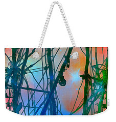 Saint Elmo's Fire Weekender Tote Bag