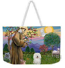 Saint Francis Blesses A Bolognese Weekender Tote Bag