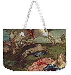 Saint George And The Dragon  Weekender Tote Bag by Jacopo Robusti Tintoretto