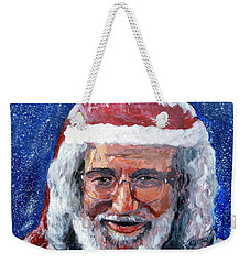 Weekender Tote Bag featuring the painting Saint Jerome by Tom Roderick