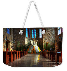 Saint Josephs Apache Mission Weekender Tote Bag