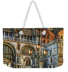 Saint Marks Square Weekender Tote Bag by Jerry Fornarotto