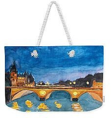 Saint-michael Bvd. Paris Weekender Tote Bag