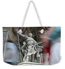 Saint Peters Traffic Weekender Tote Bag