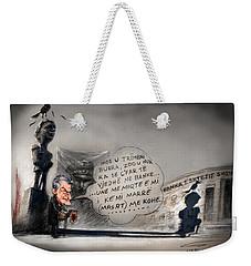 Sali Berisha Per Ahmet Zogun Weekender Tote Bag