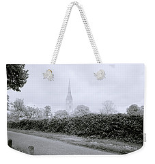 Salisbury Cathedral Weekender Tote Bag by Shaun Higson